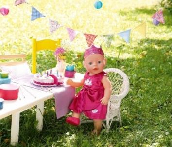 820681 Набор для кукол Baby Born День рождения - одежда, торт ZAPF CREATION Toys for girls