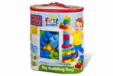 8327 Mega Bloks Klasikinis Konstruktorius, 80det. LEGO ir kiti konstruktoriai vaikams