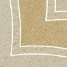 9.8*9.8 ARKESIA BEIGE B NAR, akmens masės kampas Akmens masės apdailos plytelės