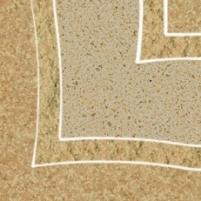 9.8*9.8 ARKESIA BROWN B NAR, dekoruota akmens masės plytelė Akmens masės apdailos plytelės