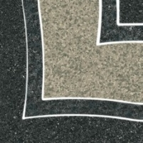 9.8*9.8 ARKESIA GRAFIT NAR B, dekoruota akmens masės plytelė