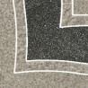 9.8*9.8 ARKESIA GRYS NAR B, dekoruota akmens masės plytelė
