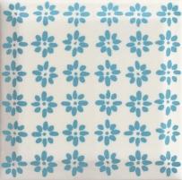 9.8*9.8 RODARI BLUE, plytelė