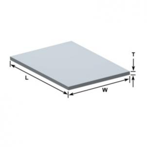Aliuminio lakštas 1,0x1250x2500 Alumīnijs