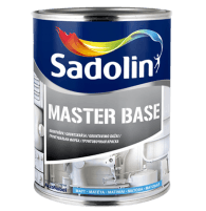 Dažai alkidiniai gruntavimo, nenutekantys Master Base 2,5 ltr.