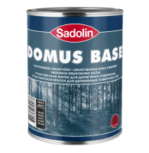 Dažai gruntavino aliejiniai, alkidiniai, medienai Domus base 1 ltr.