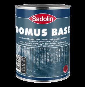 Dažai gruntavino aliejiniai, alkidiniai, medienai Domus base 5 ltr.