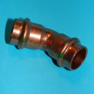 Alkūnė VIEGA Profipress, d 18, 45*, vidus-vidus Copper elbows