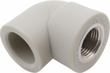 Alkūnė instaplast su vidiniu sriegiu 25-3/4' Instalplast cilts