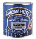 Dažai metalo HAMMERITE 5 lit.sidabriškai pilka kaldintas efektas, antikoroziniai. Emaliniai dažai