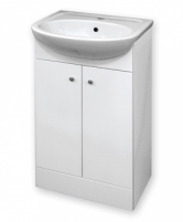 The lower cabinet with wash basin DAK50-1