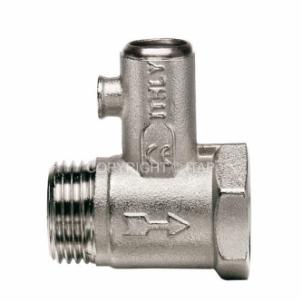 Apsauginis vožtuvas pašildytojui d1/2'' be rank. Safety valves