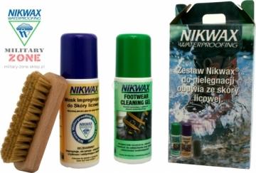 Avalynės priežiūros rinkinys Nikwax NI-59 odai 2x125 Kariškos avalynės aksesuarai