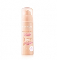 BOURJOIS Paris Foundation 10 Hour Sleep Effect Cosmetic 30ml (Color 73 Light Beige) Maskuojamosios priemonės veidui