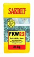 White flexible tile adhesive FKW (25 kg) Adhesives for tiles