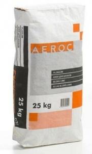 Balti žieminiai blokų klijai BAUROC, 25kg Statybinių blokelių klijai