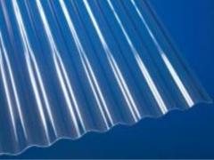 Banguotas PVC lakštas sinus 900x2000 mm (1,8 kv.m) skaidrus