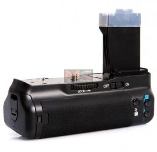 Baterijų laikiklis Meike Canon 550D, 600 Kameras bateriju turētāji (grip)