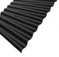 Beasbestinio šiferio lakštas 1130x1250 Eternit Klasika juodas