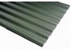 Beasbestinio šiferio lakštas 1130x1250 Eternit Klasika žalia