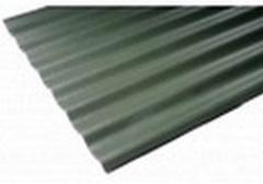 Beasbestinio šiferio lakštas 1750x1130 Eternit Agro L žalias