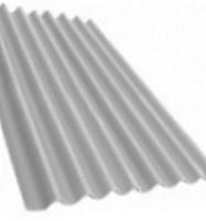 Non-asbestos slate sheets 2500x1130 'Klasika XL' grey Non-asbestos slate