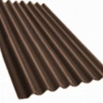 Non-asbestos slate sheets 2500x1130 Klasika XL brown