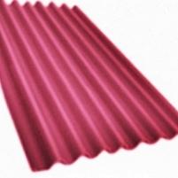 Non-asbestos slate sheets 2500x1130 'Klasika XL' cherry Non-asbestos slate