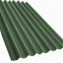 Non-asbestos slate sheets 2500x1130 Klasika XL green Non-asbestos slate