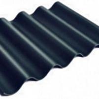 Non-asbestos slate sheets 585x920 'Gotika' black Non-asbestos slate