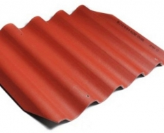 Non-asbestos slate sheets 585x920 Gotika classic red Non-asbestos slate
