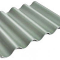 Non-asbestos slate sheets 585x920 'Gotika' grey Non-asbestos slate