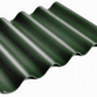 Beasbestinio šiferio lakštas 585x920 Eternit Gotika žalias Beasbestinis šiferis