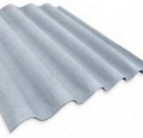 Non-asbestos slate sheets 875x920 'Baltijos banga' grey Non-asbestos slate