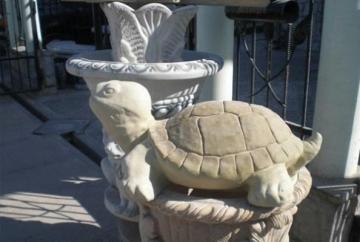 Concrete Turtle, H-31 cm Decorative concrete products