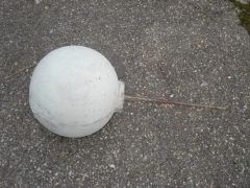 Concrete ball Concrete fences