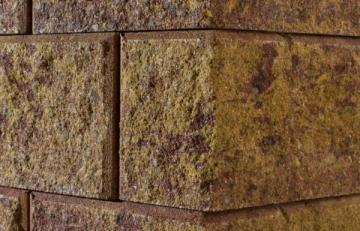 Betoninis tvoros stulpo blokelis Nojus A-2 'Auksinis ruduo' (D-2)