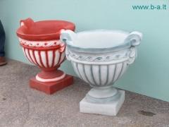 Concrete flowerpot, H-40 cm Decorative concrete products