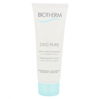 Biotherm Deo Pure Antiperspirant Cream Cosmetic 75ml Dezodorantai/ antiperspirantai