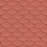 Bitumen roof shingles DELTA red Bitumen roof shingles (tiles)