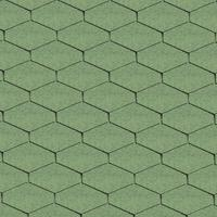 Bitumen roof shingles DELTA green Bitumen roof shingles (tiles)