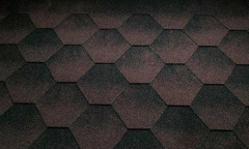 Bituminės čerpelės Super JAZZY ruda Bituminės čerpelės