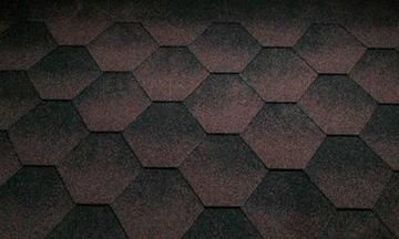 Bitumen roof shingles Super JAZZY brown