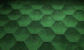 Bituminės čerpelės Super JAZZY žalia Bituminės čerpelės