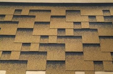 Bitumen roof shingles Super Rocky golden sand Bitumen roof shingles (tiles)