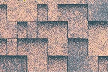 Bitumen roof shingles Super Rocky sands brown Bitumen roof shingles (tiles)