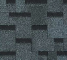 Bitumen roof shingles AKORDAS PRAGA, grey Bitumen roof shingles (tiles)