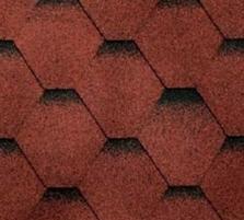 Bituminės čerpės SONATA KADRILIS, raudona Bituminės čerpelės