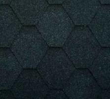 Bituminės čerpės SONATA VERSALLES, juoda