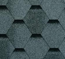 Bitumen roof shingles SONATA VERSALLES, grey